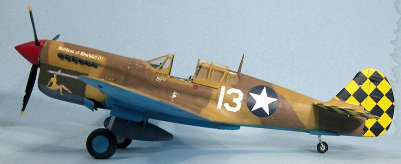 Hasegawa 1/32 P-40L Warhawk (Conversion), by Tom Cleaver