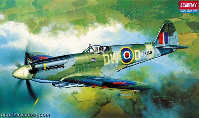 Academy 1 72 Spitfire Xiv