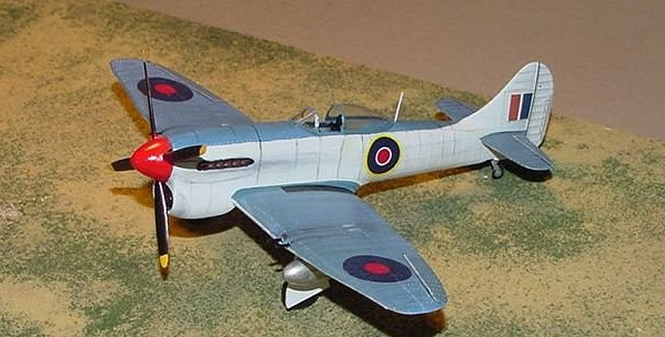 Revell 1 72 Hawker Tempest V By Greg Ewald