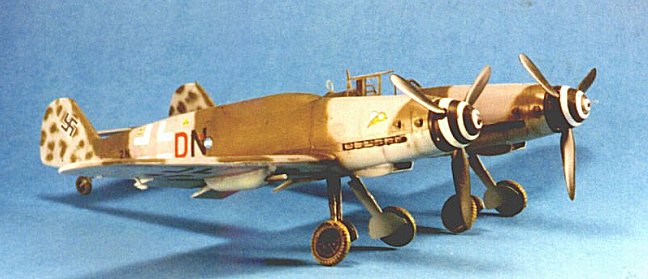 Messerschmitt Bf 109 Z by Greg Goheen (Planet Models 1/48)