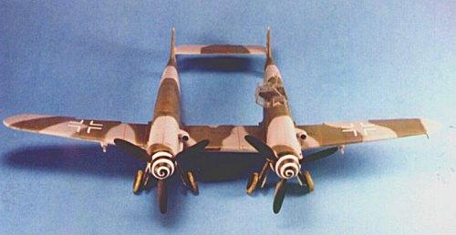 Messerschmitt 1/48 Bf-109Z