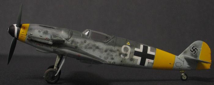 Academy 1/72 Bf-109G-14, by Jon