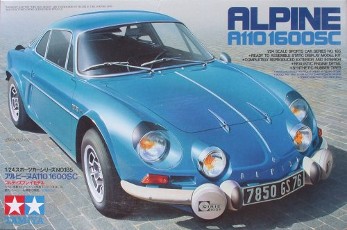 tamiya 1 24 alpine a110. Black Bedroom Furniture Sets. Home Design Ideas