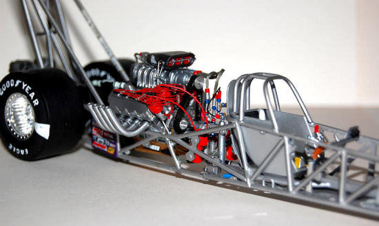 Revell Monogram 1 24 Royal Purple Sequent Top Fuel Dragster  By Shawn Payne