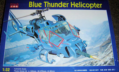Kitech 1 32 Blue Thunder Helicopter Previewed By Zac Yates