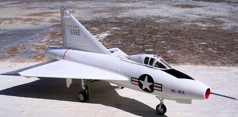 Airmodel 1 72 Xf 92 By Carmel J Attard