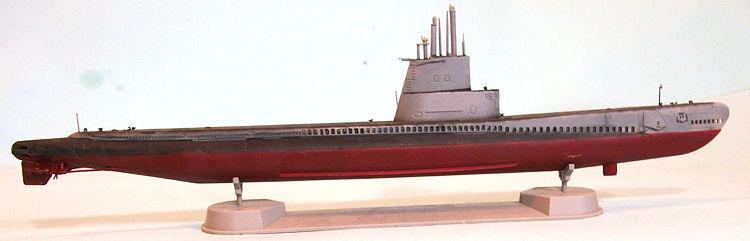 """AFV 1/350 Guppy IB """"USS Dace"""", by Tom Cleaver"""