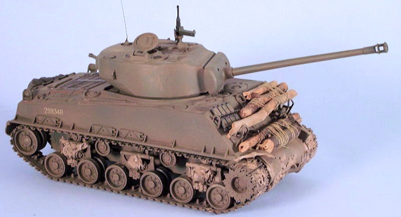 Tamiya M4a3e8 Sherman Tamiya 1/35 M4a3e8 Sherman