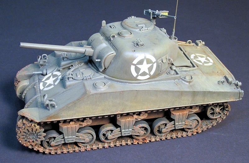 Hobby boss 1 48 m4a4 sherman mid production