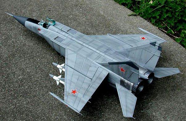 Mig-25 PD » ICM Holding - Plastic model Kits