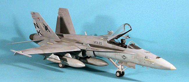 Academy 1 32 F 18c Hornet By Lee Kolosna