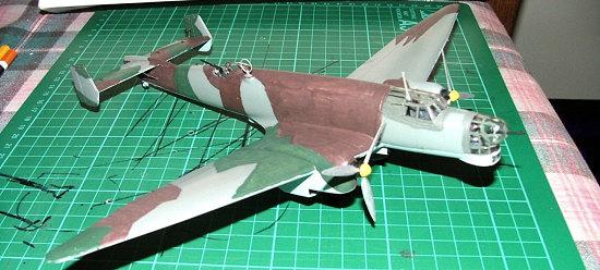 Italeri 1 72 Ju 86d 1 By Alwin Broecke