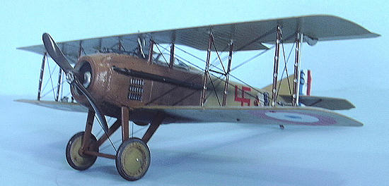 Part P Certificate >> Roden 1/32 SPAD VIIC.1, by Tom Cleaver