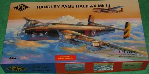Fonderie Miniatures 1 48 Handlely Page Halifax B Iii