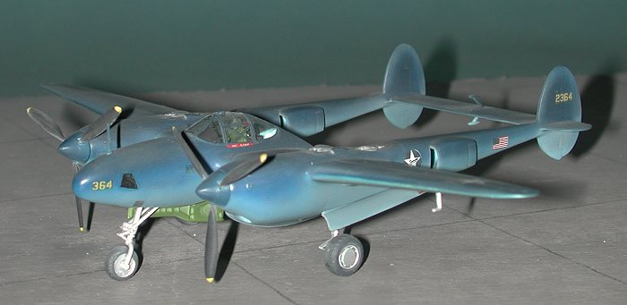 the only really successful us twin engined fighter of wwii was the p 38 lightning often the addition of the second engine rarely resulted in a superior - Revell Night Color