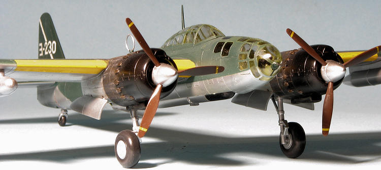 Hasegawa 1/72 P1Y1 'Ginga' (Torpedo Version), by Scott Van Aken