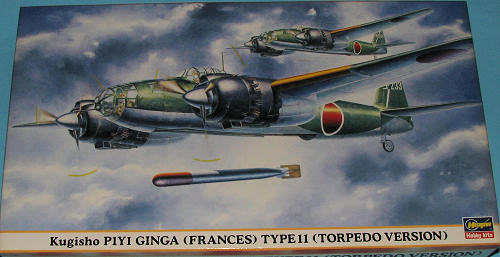 Hasegawa 1/72 P1Y1 'Frances' (Torpedo Version), previewed by Scott ...