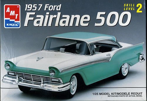 Amt 1 25 1957 Ford Fairlane 500 Previewed By Scott Van Aken