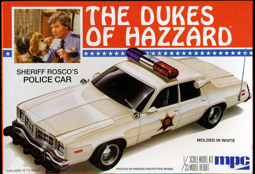 Bilderesultat for mpc dukes of hazzard police car
