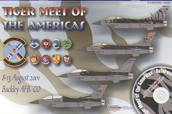 tiger meet of the americas 20012