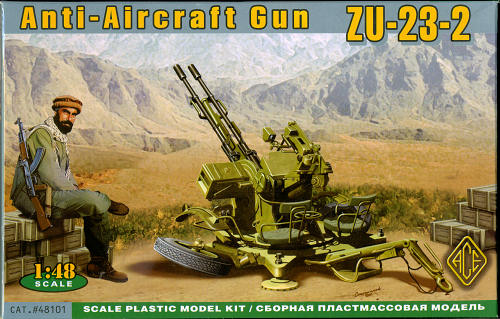 zu 23 2 Anti Aircraft Cannon Ace 1 48 zu 23 2 Anti Aircraft