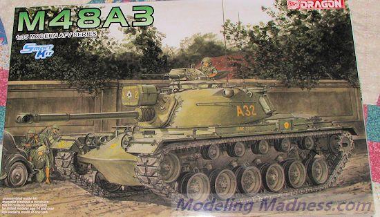 Monogram® 1/35 M48A2 Patton Tank Plastic Model Kit
