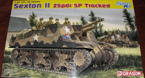 Dragon 135 Sexton II 25 Pndr SPG Previewed By Scott Van Aken