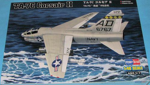 Hobby Boss 1 48 Ta 7c Corsair Ii Previewed By Scott Van Aken