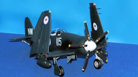 Eduard Zoom FE423 1//48 Hawker Sea Fury FB.II Trumpeter