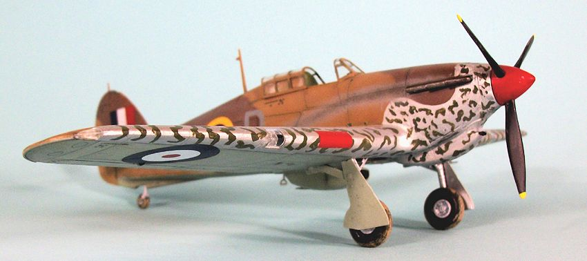 & Airfix 1/48 Hawker Hurricane I (tropical) by Tom Cleaver
