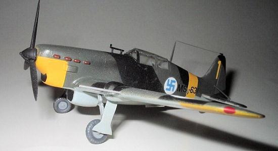 Hobby Boss 1//72 Morane Saulnier MS.406 # 80235