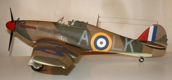 Airfix 1 24 Hurricane I By Julien Dixon