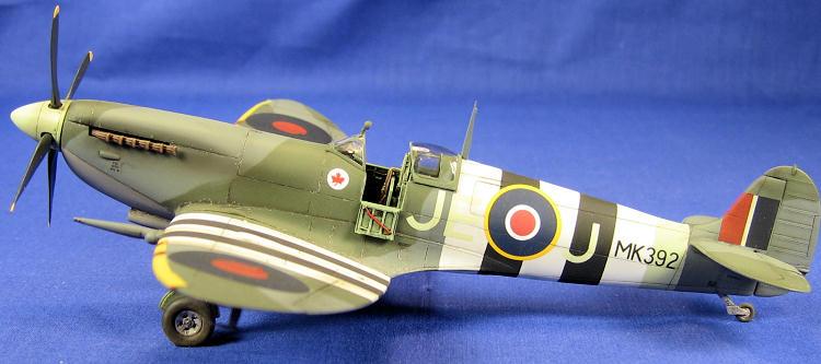 Hasegawa 1 48 Spitfire Ix By Scott Lyle