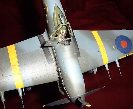 Hawker Typhoon Cockpit Photos - LSP Discussion - Large Scale ... | 372x450
