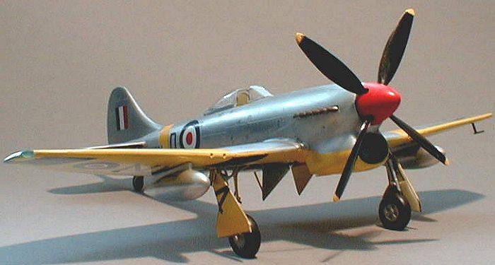 1:48 Tempest Mk.V Series 1 - Non-LSM Reviews - Large Scale Modeller | 375x700