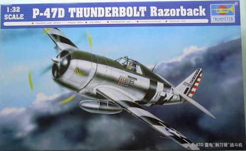 Image result for image Trumpeter 1/32 P-47 razorback