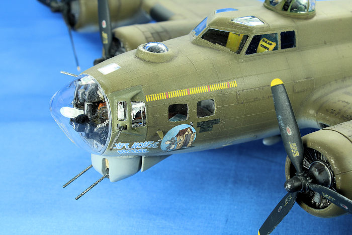 Revell 5600 1:48 B17-G Flying Fortress Plastic Model Kit