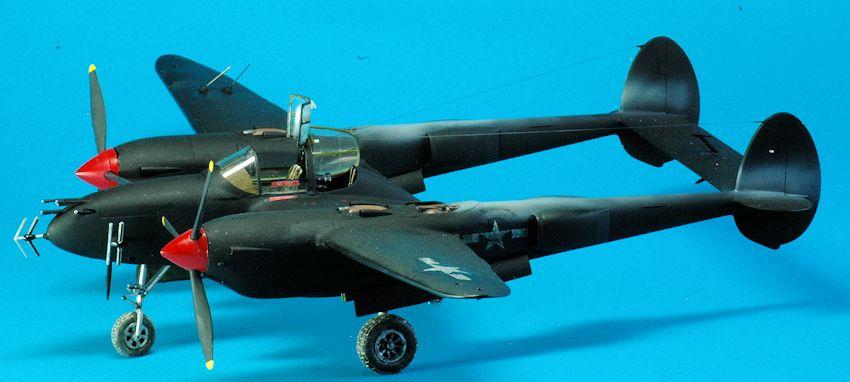 Night Fighter P 38 Built