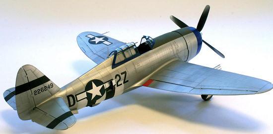 Trumpeter 1//32 02262 P-47D Thunderbolt Razorback