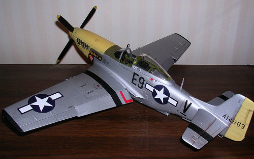 Hasegawa 1:32 Scale P-51D Mustang Model Kit