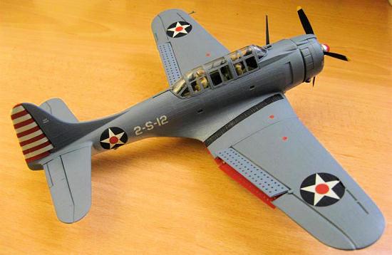 Revell Monogram 1:48 SBD Dauntless Aircraft Model Kit