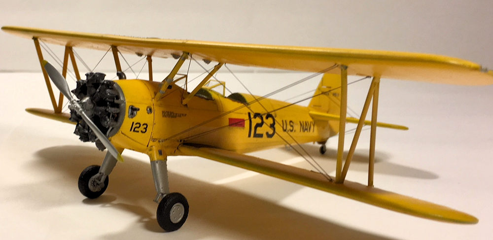Revell 1/48 Stearman N2S-3, by Zach Pease