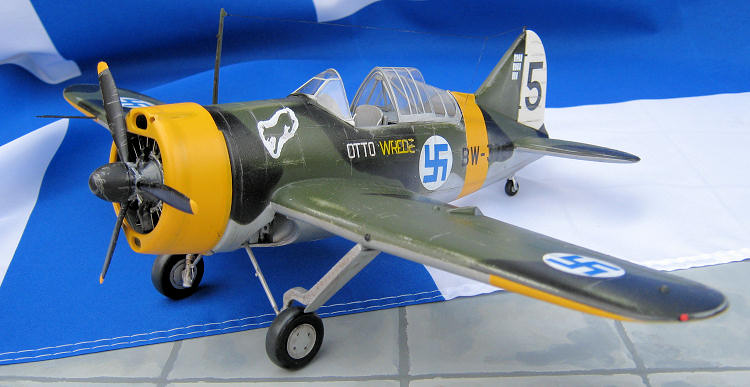 Hobby 2000 72011 Brewster 239 Buffalo Finnish Aces