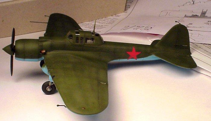 RV Resin 1/72 IL-2 (M-82)