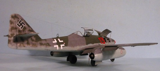 Trumpeter 1/32 Me-262A, by Tom Cleaver