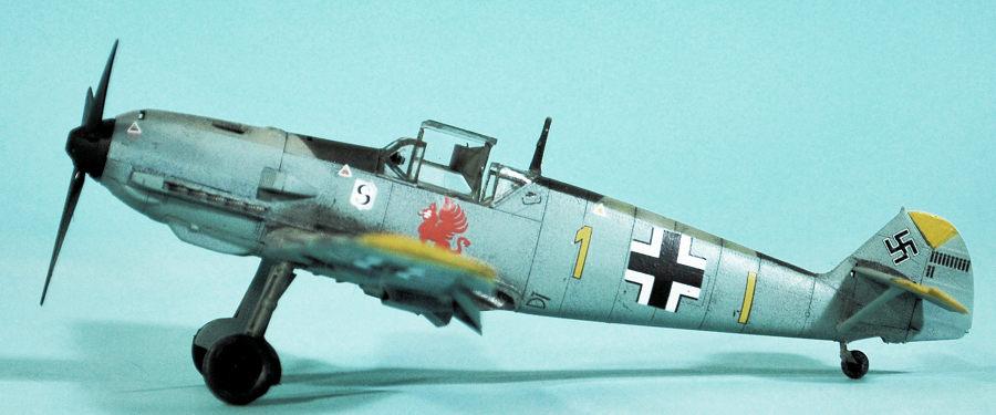 Special Hobby 1/72 Bf-109E-4, by Tom Cleaver