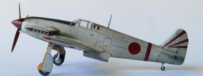 Fine Molds 1/72 Ki-61 'Hein', by Jeroen Koen