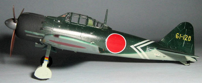 Academy 1/72 A6M5c Zero, by Nathan Stevens