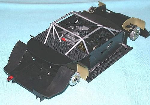 Tamiya 1/24 Xanavi Nimo GT-R, by Grenville Davies
