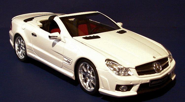 Aoshima 1 24 Mercedes Sl63 Amg By Mark Hiott